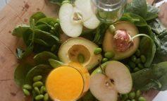 Hardlopers tussendoortje: Avocado, spinazie en sojabonen smoothie