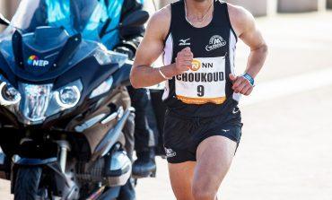 Khalid Choukoud loopt thuiswedstrijd bij 44e CPC Loop Den Haag