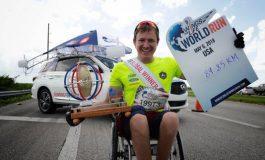 Nederlandse winnaar Max van der Westerlaken rent ruim 31 km tijdens Wings For Life World Run