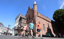 18 september 2018 Lopen, wandelen, skaten en poolen tijdens eerste Den Bosch Urban Trail