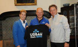 KLM titelsponsor Urban Trail Series