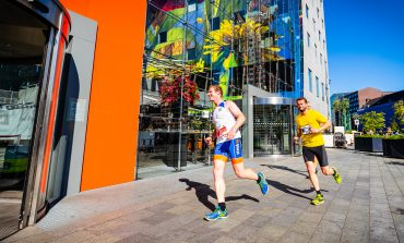 De vierde editie van de KLM Urban Trail Rotterdam over Kop van Zuid