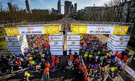 Ruim 40.000 deelnemers aan de start van de 45e CPC Loop Den Haag