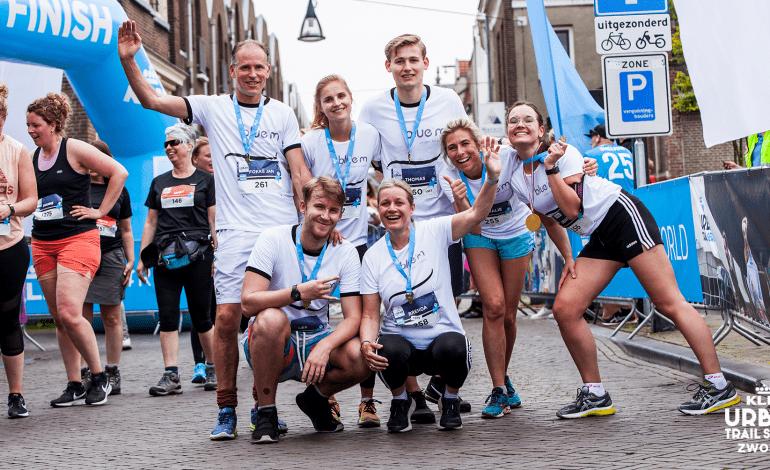 Derde editie Urban Trail Zwolle was sfeervolle ontdekkingstocht