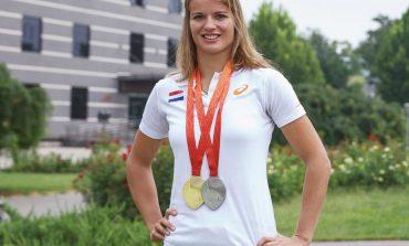 Dafne Schippers prolongeert WK titel op 200 meter in Londen (video)
