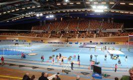 Femke Bol wint 400 meter NK indoor in nieuw Nederlands record