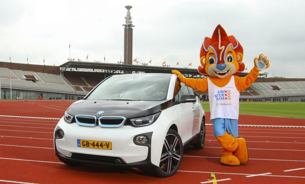 BMW auto sponsor EK atletiek 2016