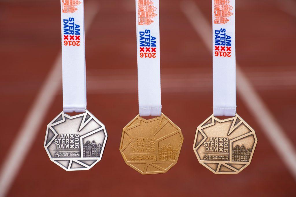 medailles EK aytletiek 2016