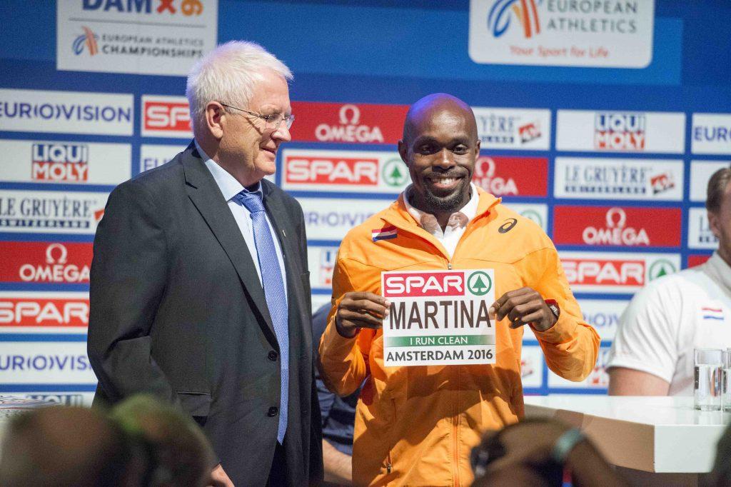 EK Atletiek Churandy Martina