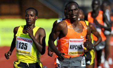 Eliud Kipchoge wint Berlijn Marathon 2017