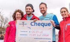 Team KWF haalt 126.104,83 euro op tijdens Marathon in Utrecht