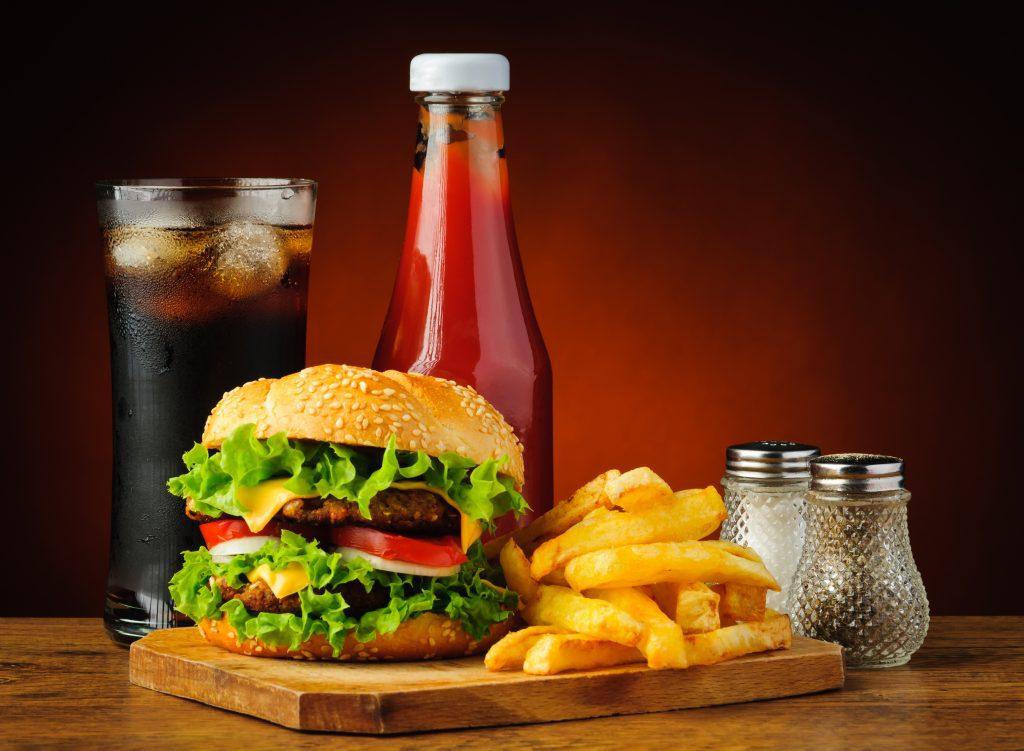 Hardlopen met Hamburger en friet