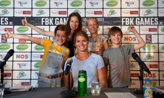 FBK Games met Dafne Schippers