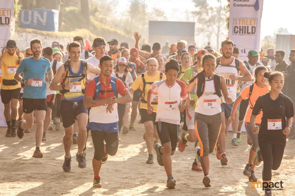 Nepal Marathon voor Street Child