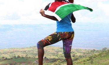 Lornah Kiplagat bij UNICEF Rift Valley Marathon-presentatie in Den Haag