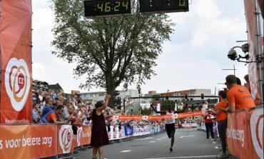 Abdi Nageeye loopt Nederlands record op 10 Engelse Mijlen