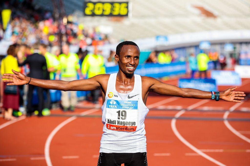 Abdi Nageeye Amsterdam Marathon
