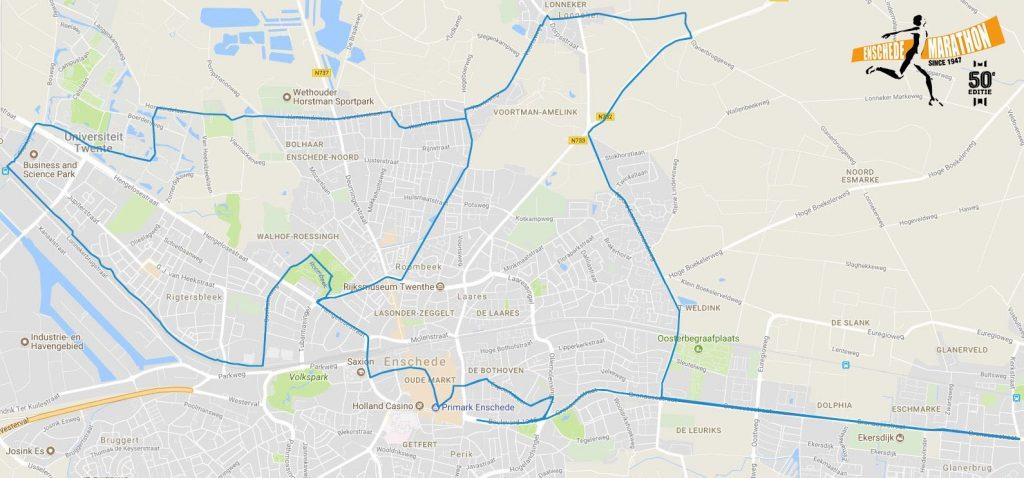 Eschede Marathon nieuw parcours