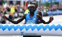 Titelverdediger Festus Talam wint spannende 34e Marathon Eindhoven