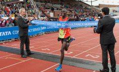 Startveld Amsterdam Marathon compleet met  toevoeging drievoudig winnaar Wilson Chebet