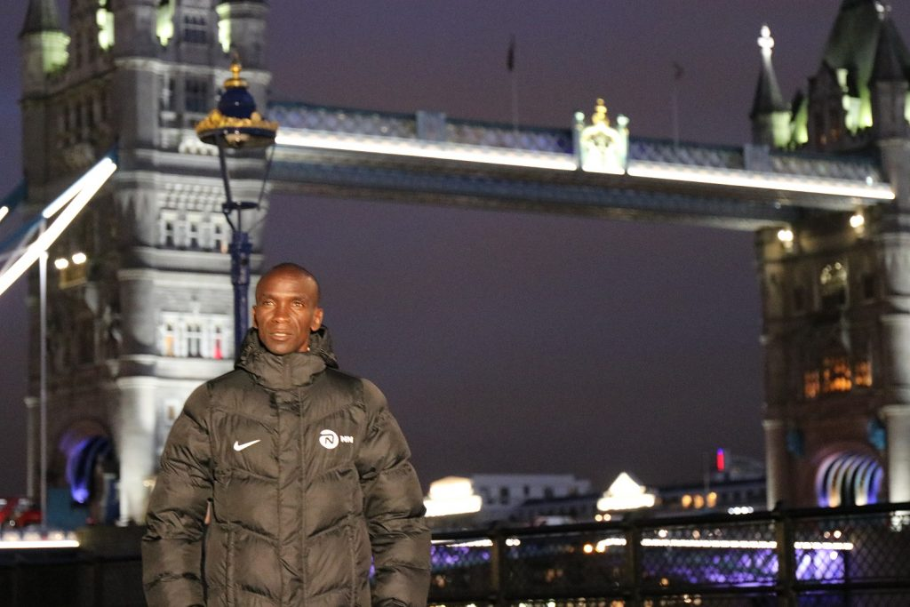 Kipchoge in London Marathon