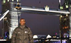 Eliud Kipchoge aan de start van Londen Marathon 2018