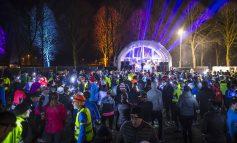 800 headlights verlichtten eerste Den Bosch Night Run