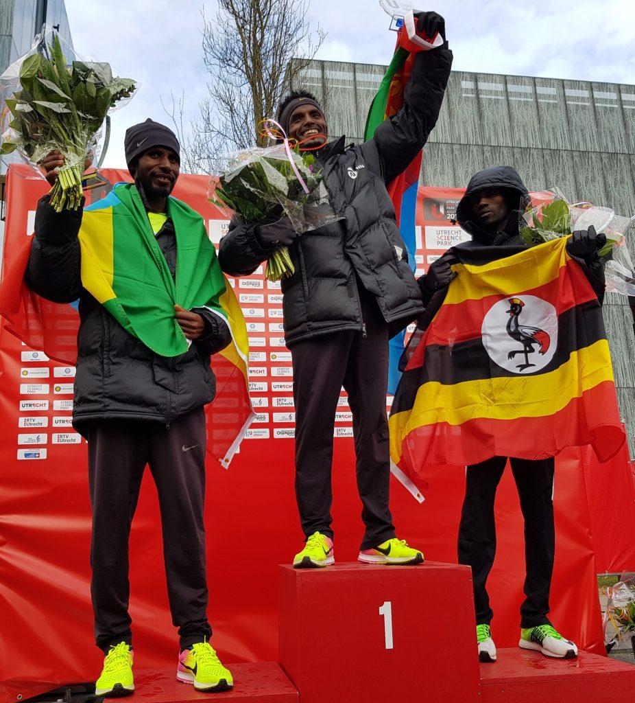 Mohammed Nurhussein wint Utrecht Marathon