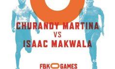 Churandy Martina VS Isaac Makwala op FBK Games