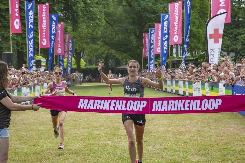 Nina Lauwaert wint Marikenloop 2018