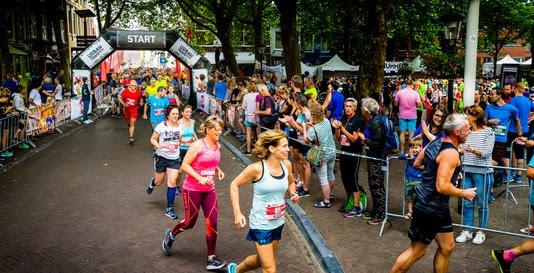 Utrecht Urban Trail start