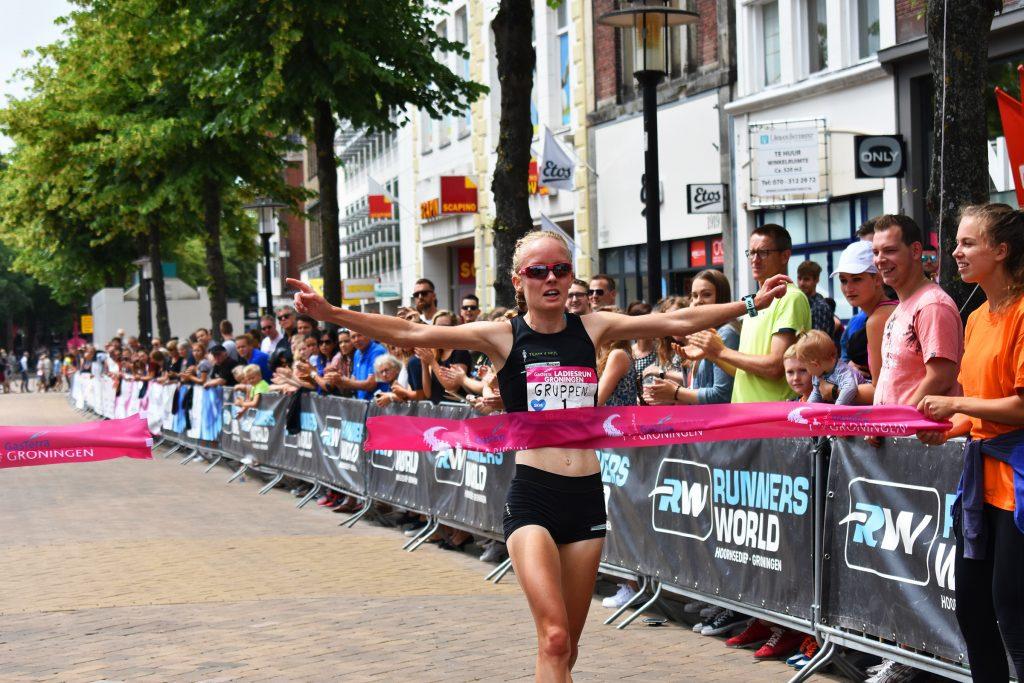 Winnares Ladiesrun Groningen Gruppen