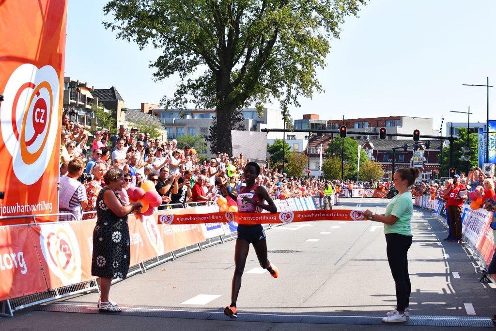 Agnes Tirop winnares Tilburg Ladies Run