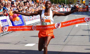 Rodgers Kwemoi voor derde keer op rij winnaar van de Tilburg Ten Miles