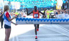 De 35e Marathon Eindhoven is een prachtige overwinning geworden voor Elisha Kipchirchir Rotich