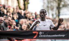 Joshua Cheptegei gaat voor wereldrecord bij Zevenheuvelenloop