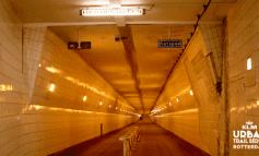 Maastunnel toegevoegd aan parcours Urban Trail Rotterdam