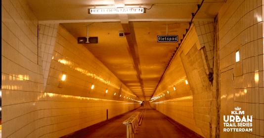 Maastunnel Urban Trail Rotterdam