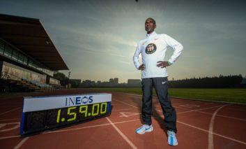 Eliud Kipchoge gaat dit jaar weer voor een Marathon onder de twee uur