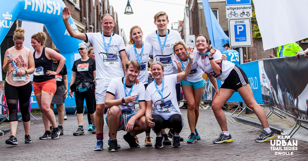 Urban Trail Zwolle 2019 finish