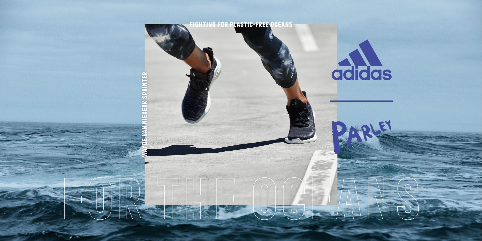 Adidas lanceert ecologische hardloopschoen van gerecyclede