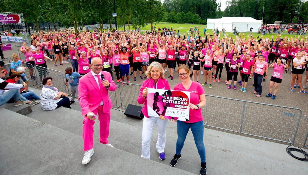 Ladiesrun Rotterdam Pink Ribbon