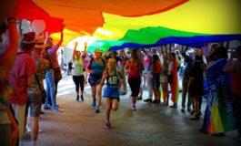 Rainbow Run tijdens Gaypride Amersfoort