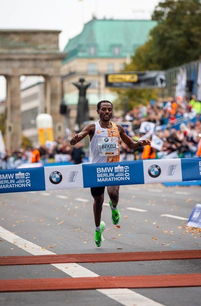 Kenenisa Bekele wint Berlijn Marathon