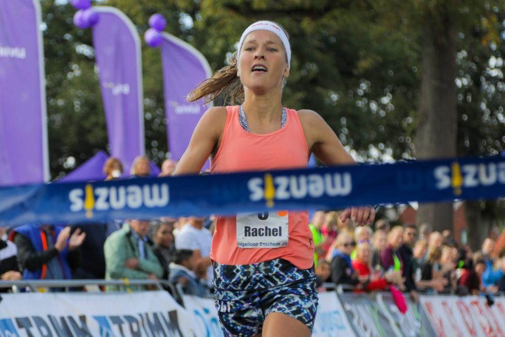 Rachel Klamer wint Singelloop Enschede