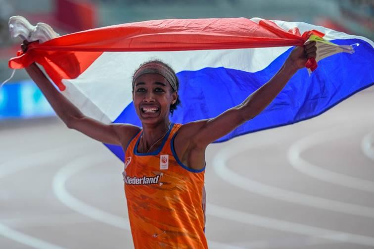 Sifan Hassan goud 1500 meter Doha