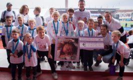 Kinderen vragen aandacht voor zeldzame longaandoening tijdens Kidsrun in Amsterdam