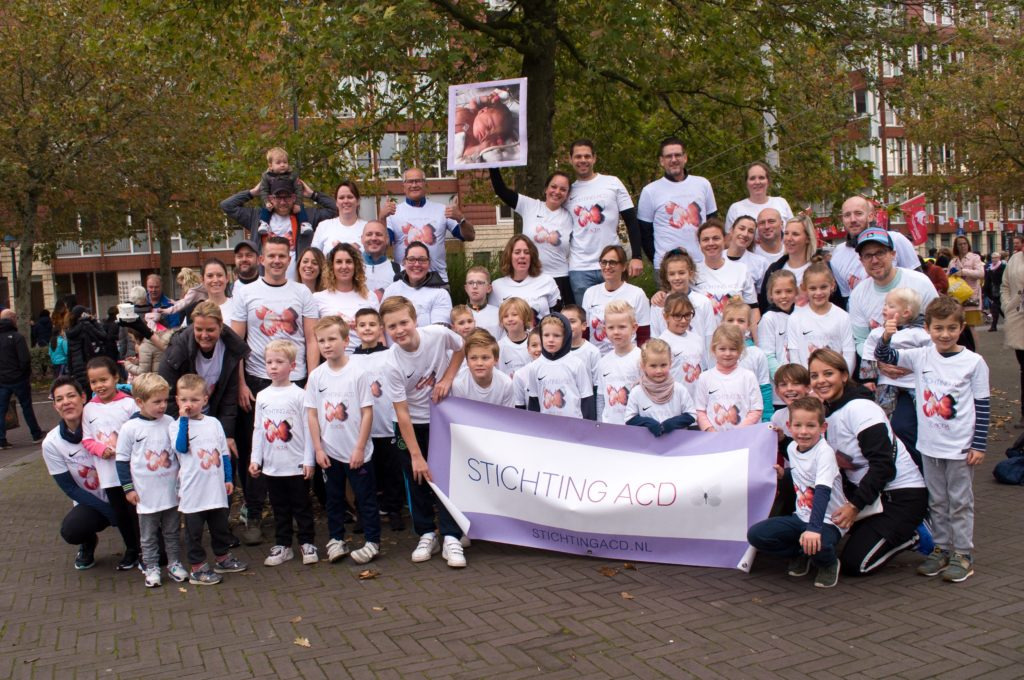 Stichting ACD tijdens Amsterdam Marathon