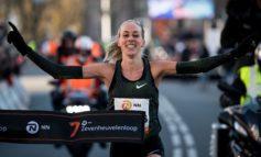 Susan Krumins strijdt tegen WK-medaillewinnaressen bij Zevenheuvelenloop