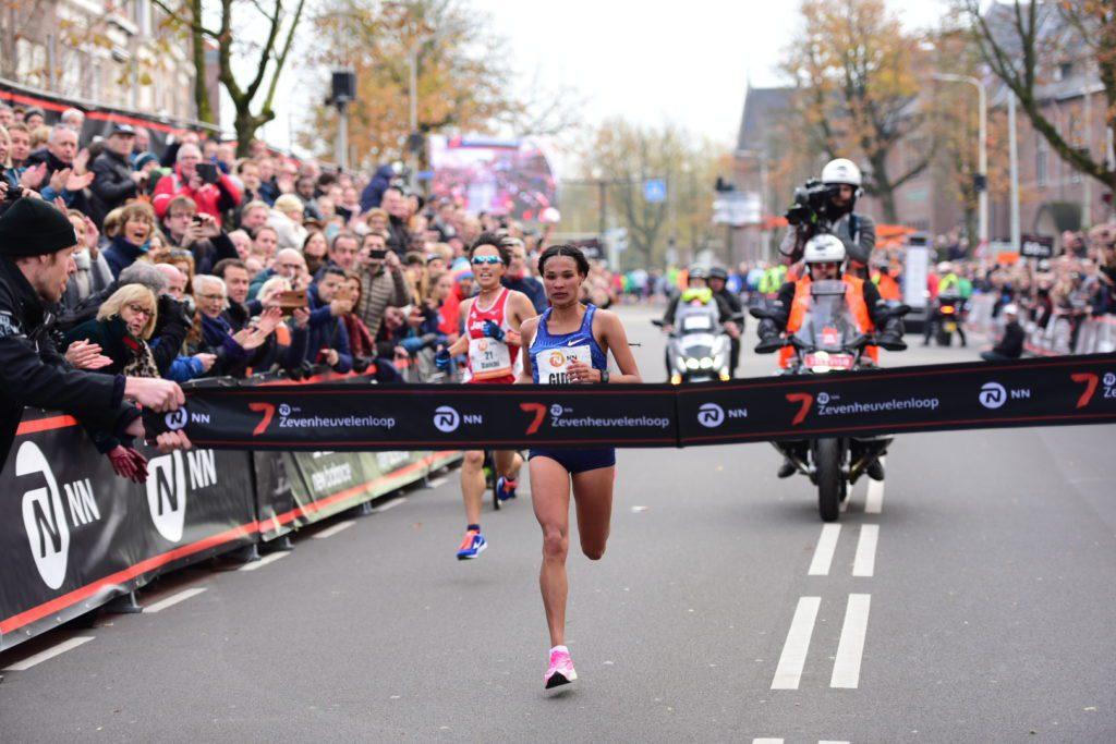 Letesenbet Gidey wint Zevenheuvelenloop in wereldrecord